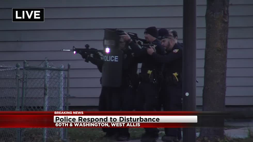 UPDATE: West Allis Police searching for suspect after report of disturbance