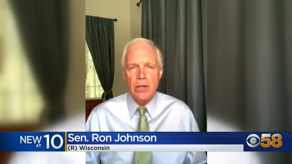 Sen. Johnson questions effectiveness of masks in schools, cast...