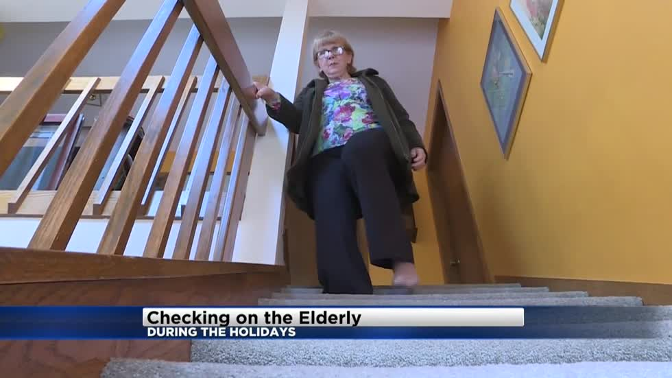 The holidays offer the opportunity to make sure aging relatives are doing alright with independent living
