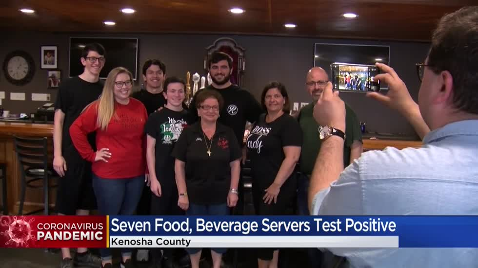 7 Kenosha County food and beverage workers test positive for COVID-19
