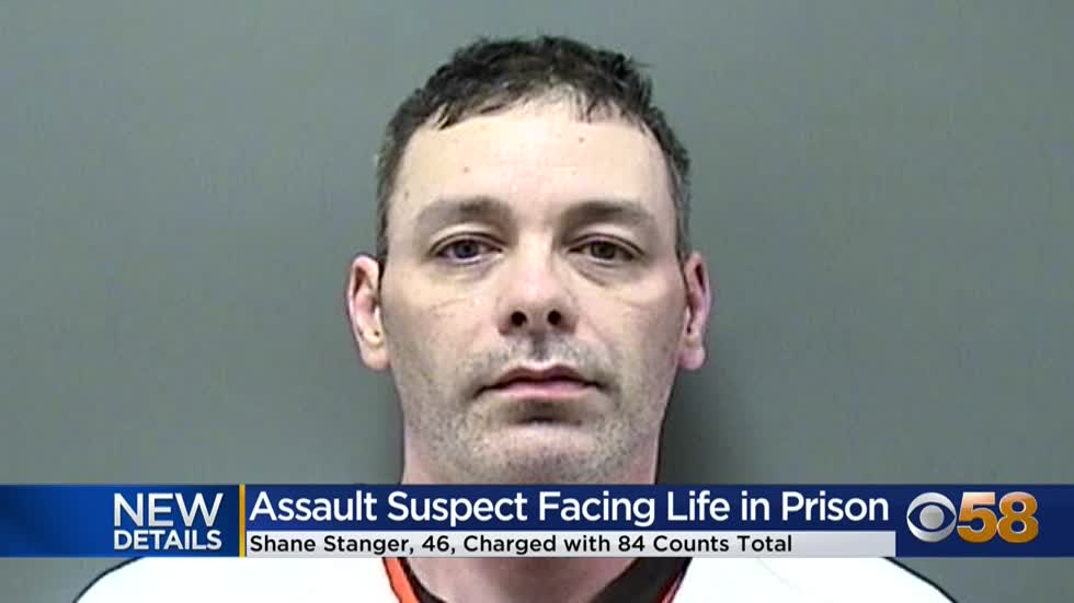82 additional charges filed against Shane Stanger, man accused...