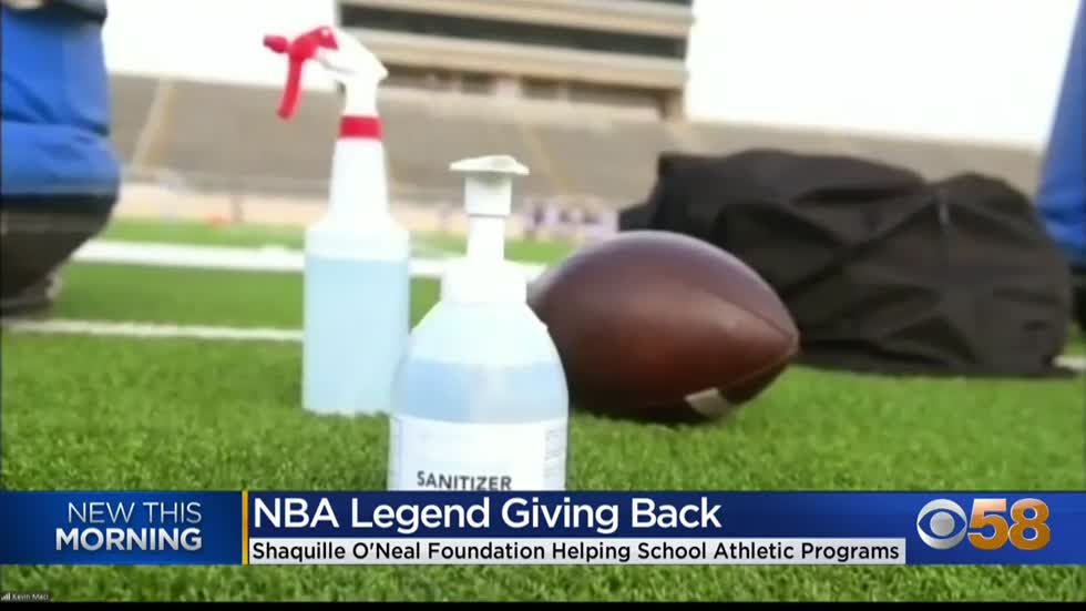Shaquille O'Neill teams up with Icy Hot to help student athletes