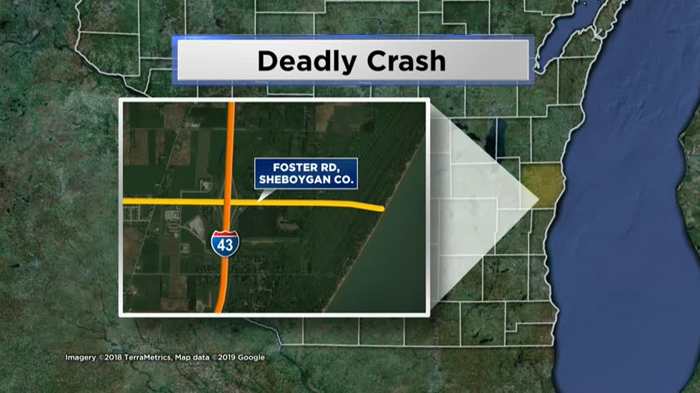 Person killed in Sheboygan County crash
