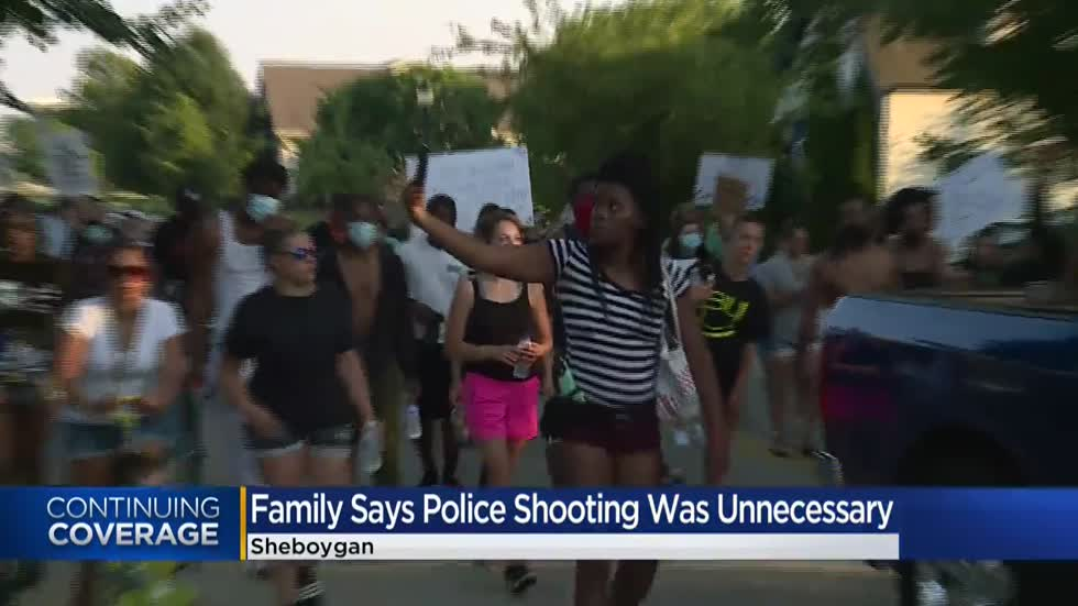 Sheboygan police officer placed on administrative leave after shooting, killing Black man