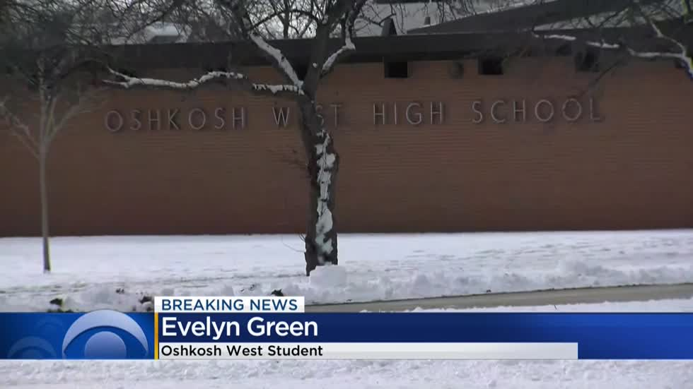 Student armed with knife shot by school resource officer at Oshkosh West HS
