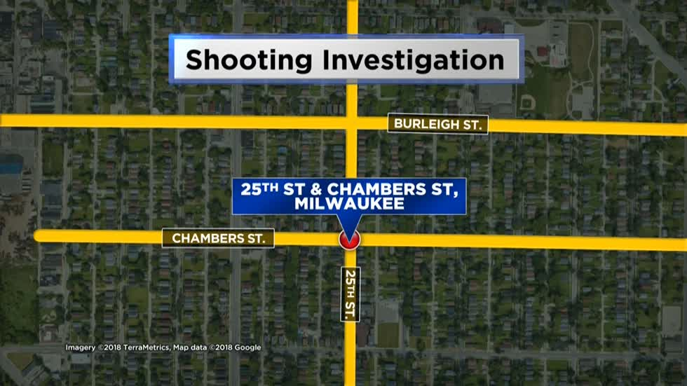 Man walks to hospital after being shot near 25th and Chambers