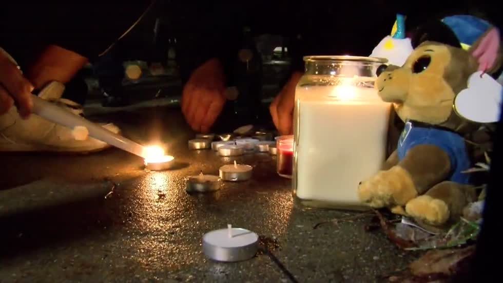 Vigil held for woman shot and killed near 12th and Keefe