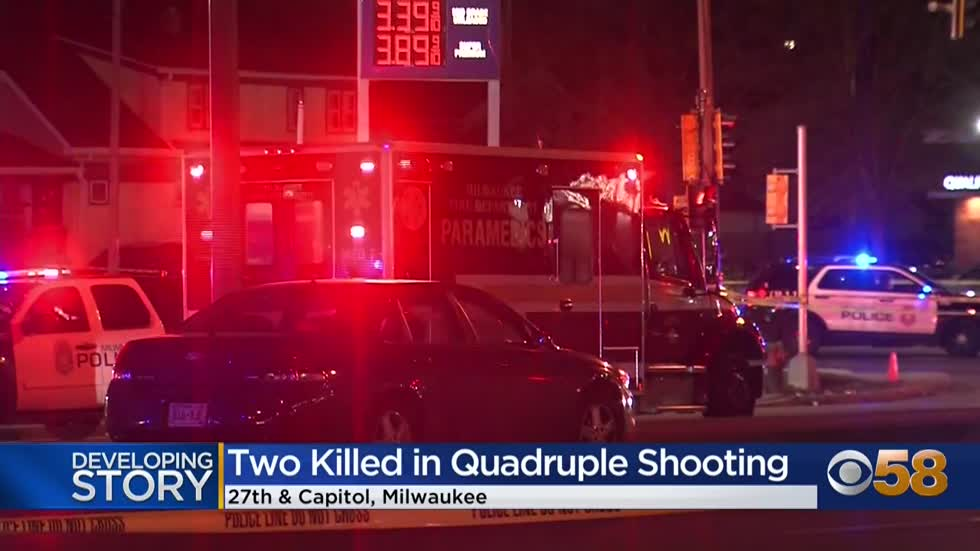 2 dead, 2 injured in gas station shooting near 26th and Capitol; 1 in custody