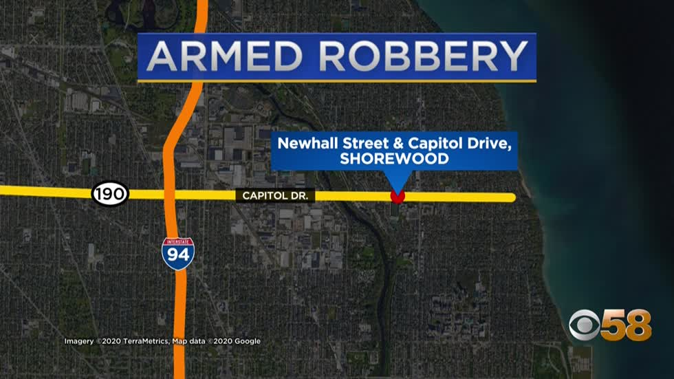Shorewood Police investigating armed robbery, searching for suspects