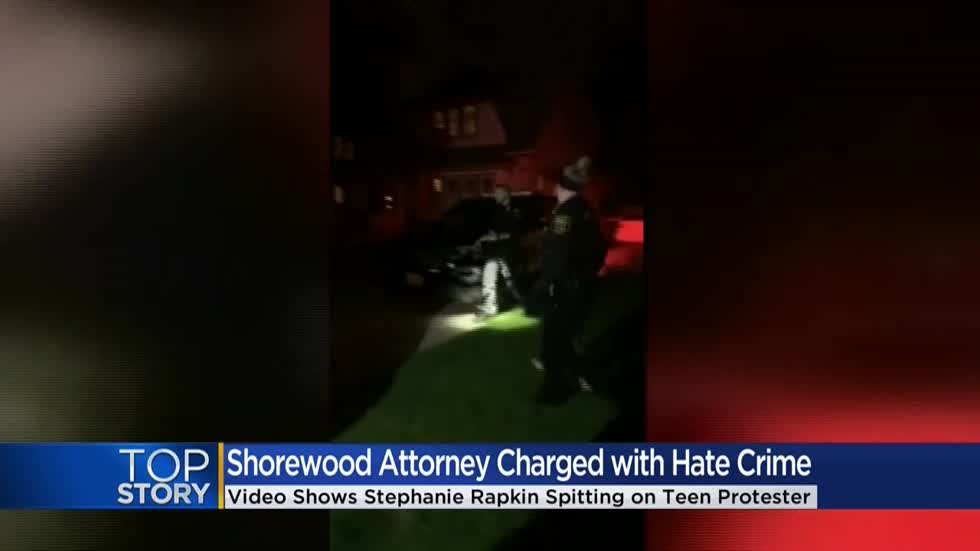 Attorney who spit on teen at George Floyd protest charged with hate crime