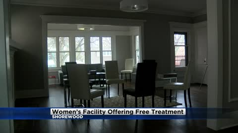 Shorewood House offering free treatment for women dealing with addiction