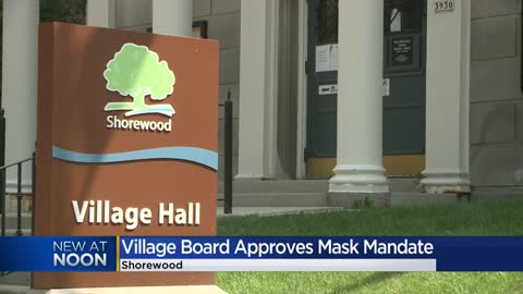 Shorewood passes face mask mandate; will require anyone 4+ to...