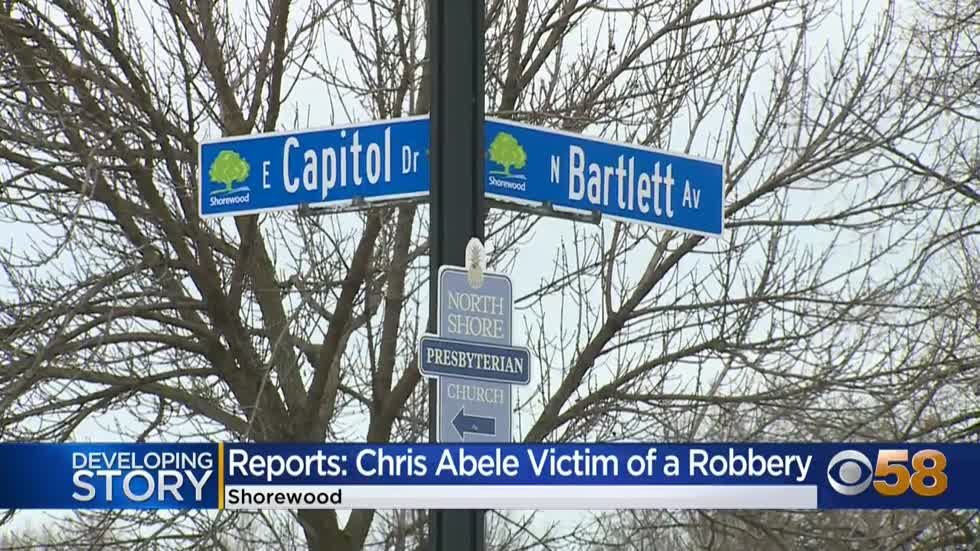 Former Milwaukee County executive Chris Abele victim of Shorewood...