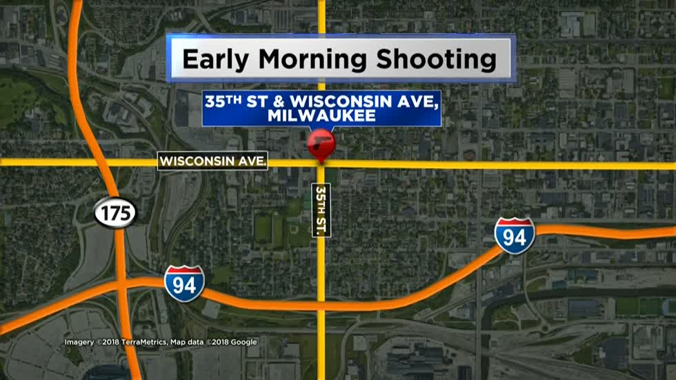 Man shot while working on car overnight