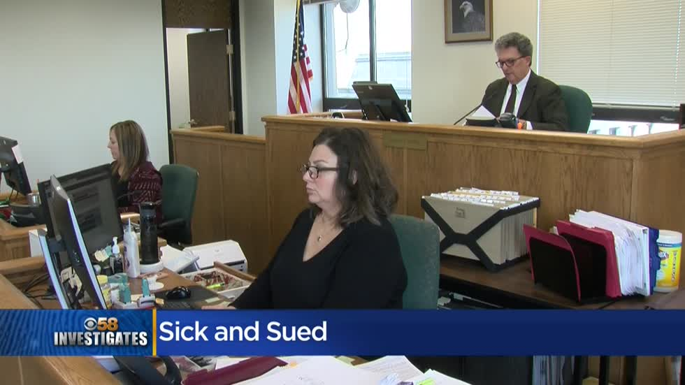 CBS 58 Investigates: Sick and Sued