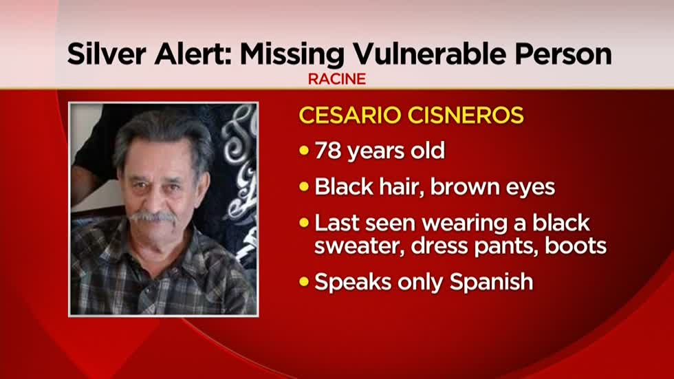 UPDATE: 78-year-old Racine man found safe
