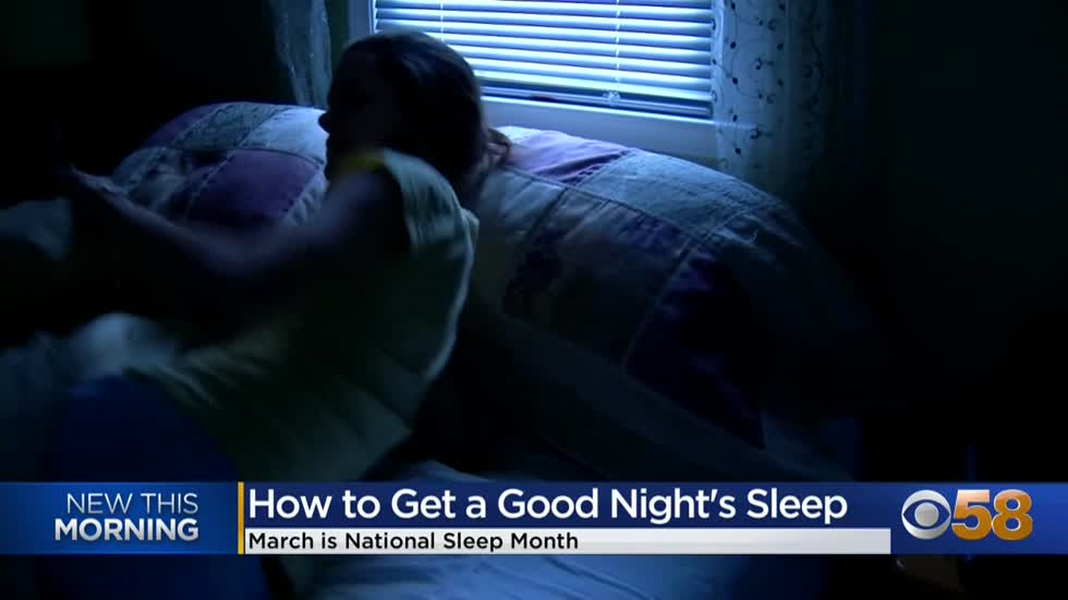 Sleep coach offers tips for getting a better night's rest