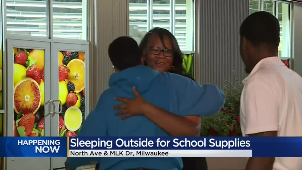 Sleepover for Education collects school supplies for local students