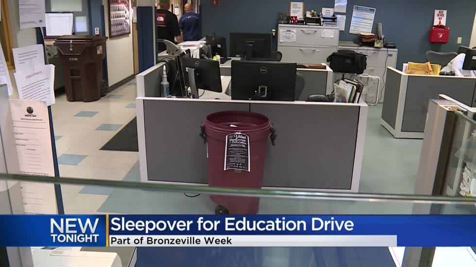 'Sleepover for Education' collecting school supplies, masks, sanitizer for MPS students