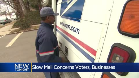 Voters, businesses concerned over delayed United States Postal...