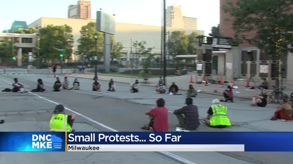 Usual convention protests have not come to Milwaukee