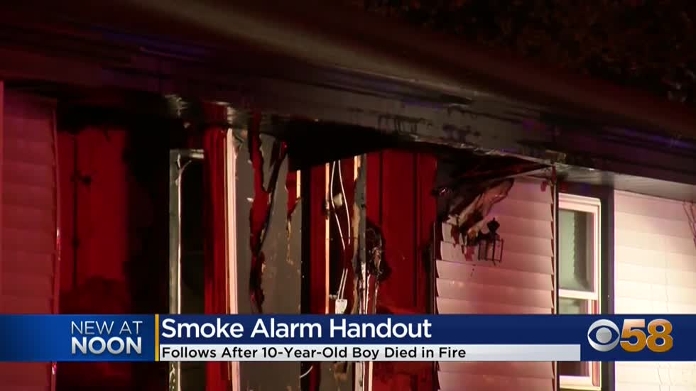 MFD stresses importance of working smoke detectors, canvass neighborhood following fatal fire