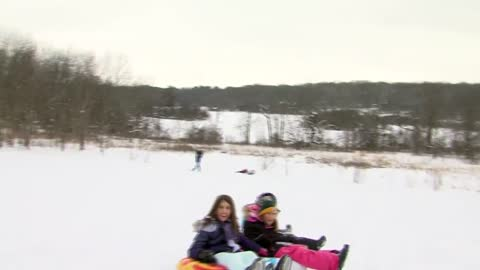 """You can't beat a day like this:"" Students, parents enjoy snow day activities"