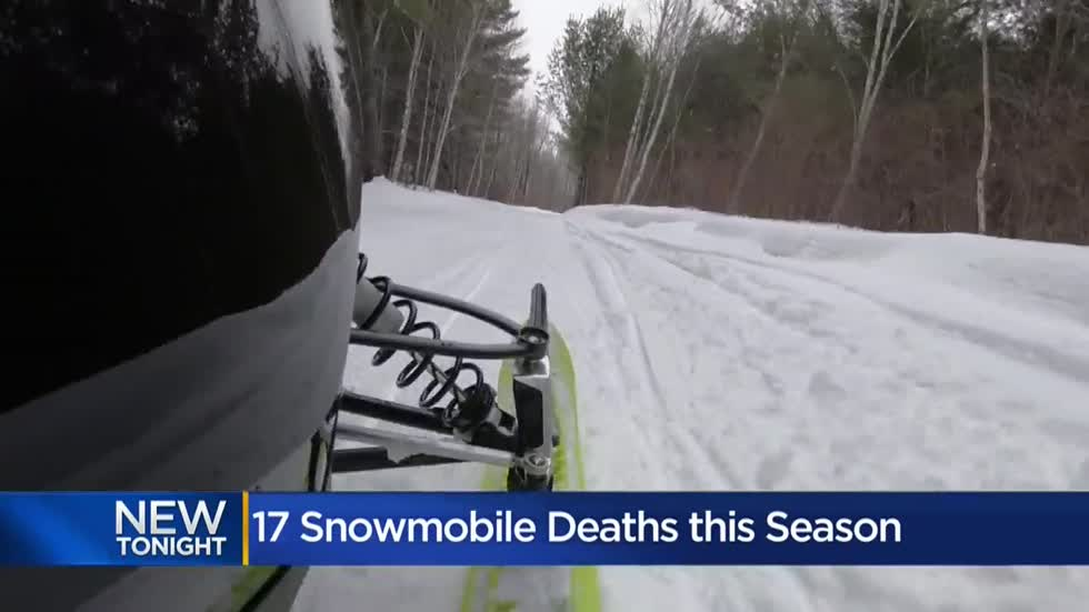 DNR: Speed, alcohol 'concerning trends' in recent snowmobile deaths