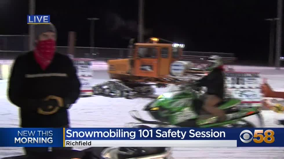 "Safety in the snow.  ""Snowmobiling 101"" class this Saturday..."