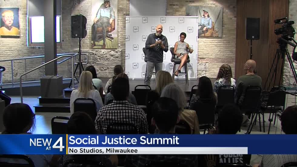 Oscar-winning filmmaker, Milwaukee native discusses Social Justice Summit at No Studios