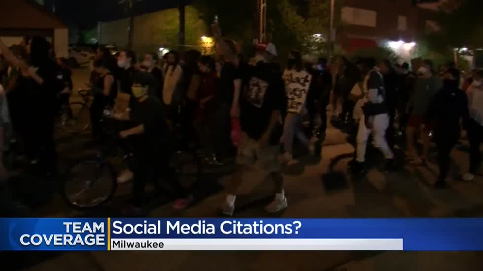 Milwaukee protester says curfew citation was mailed to him after he posted video on social media