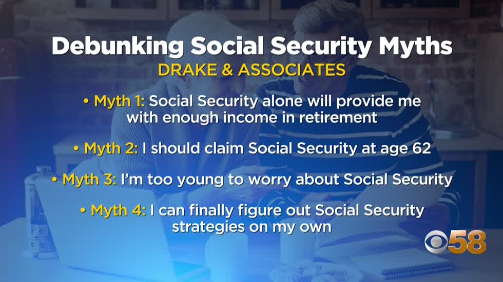 Local financial expert discusses common myths about Social Security