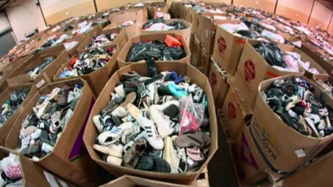 Local attorney collecting shoes for Soles4Souls charity
