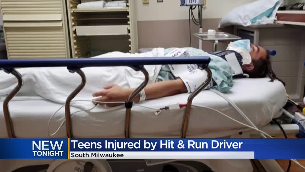 South Milwaukee mom asks for help in finding driver who hit two teens at Grant Park