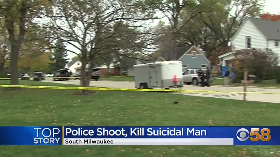 Armed man shot, killed by police in South Milwaukee