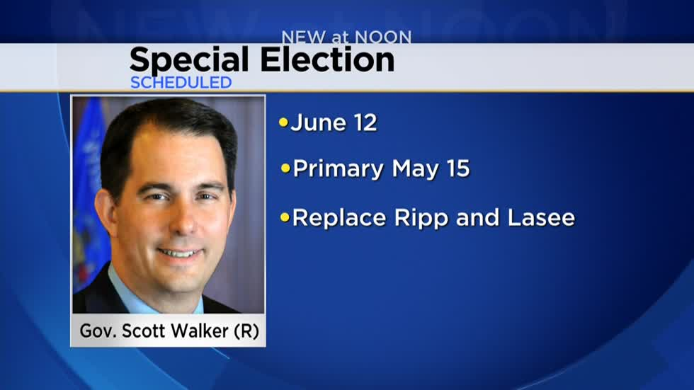 Walker calls special elections after court fight; Candidates already announced