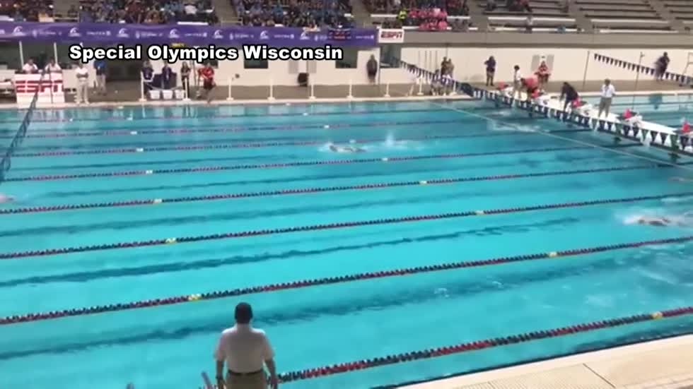 Team Wisconsin gets first big win in 2018 Special Olympics USA games