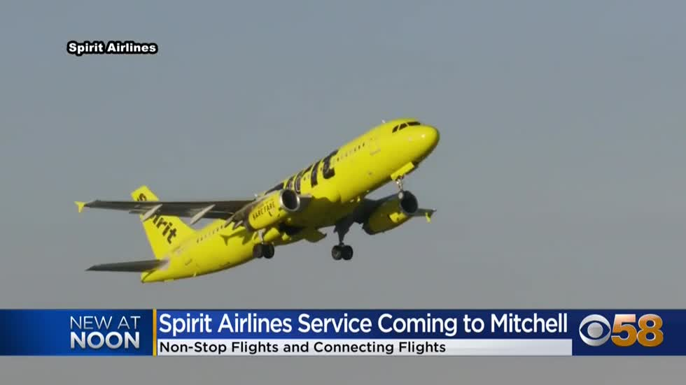 Milwaukee welcomes Spirit Airlines, with nonstop flights to Orlando, Las Vegas, and Los Angeles
