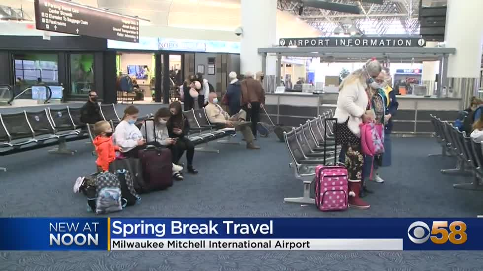 'An influx of travelers': Milwaukee Mitchell Airport seeing busiest month since pandemic began