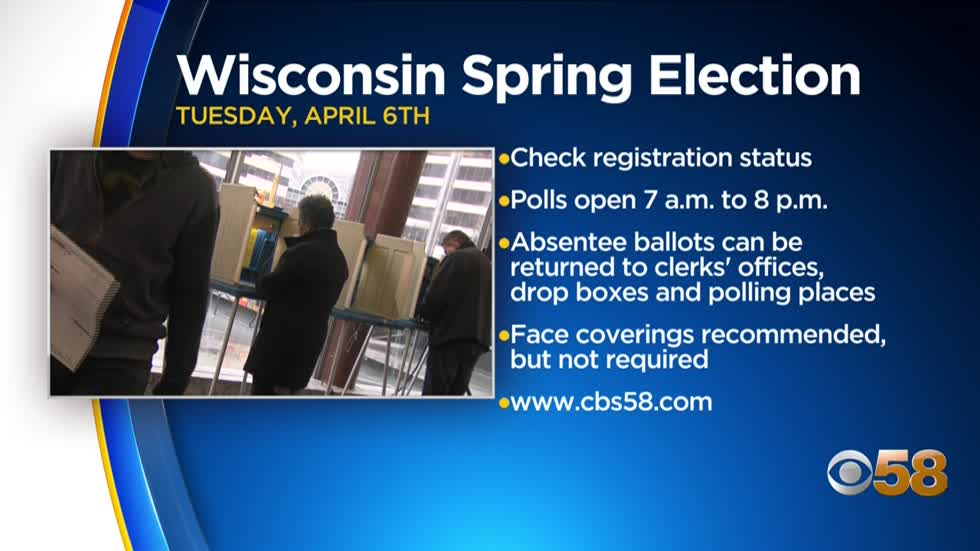 What to know before you go to the polls for Wisconsin's Spring Election April 6 🗳️