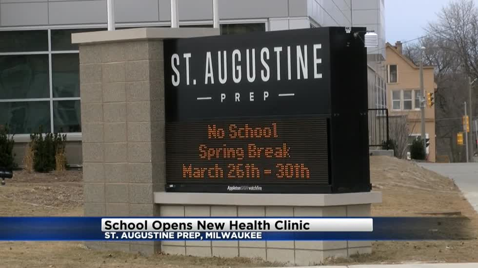 St. Augustine Prep opens new health clinic for students, staff