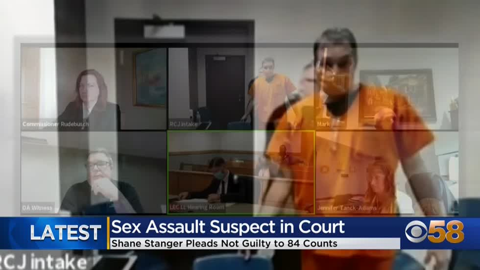 Man pleads not guilty to dozens of sex crimes in Racine County