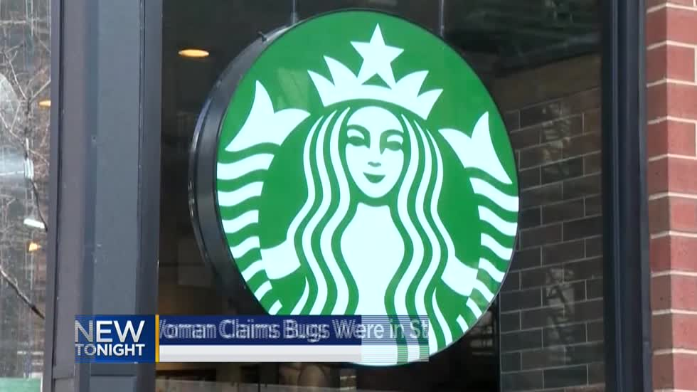 Racine woman claims she found bugs in Starbucks coffee