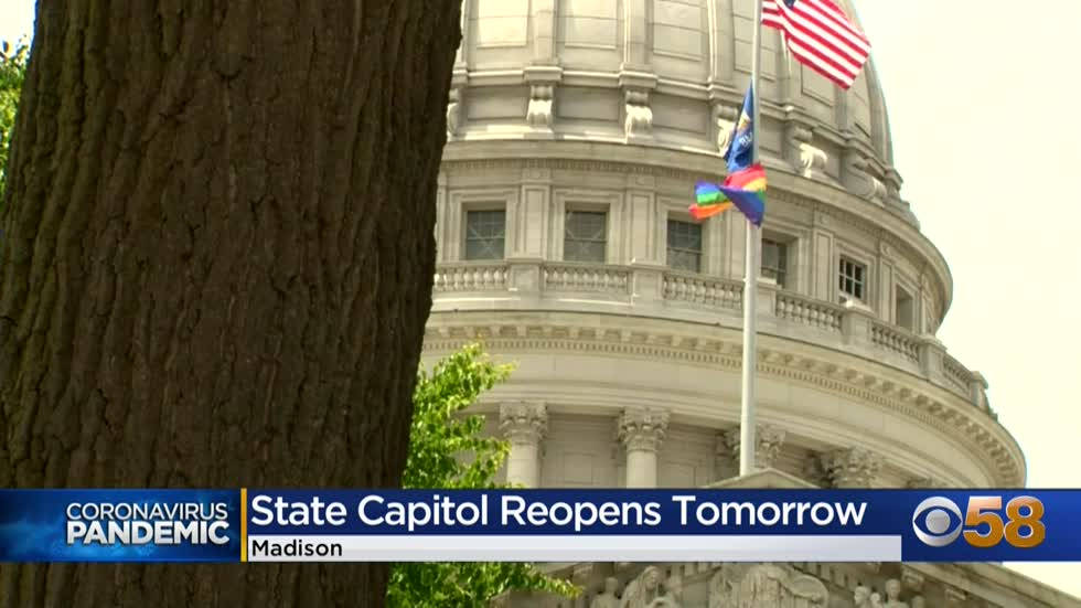 State capitol building to reopen to the public Monday