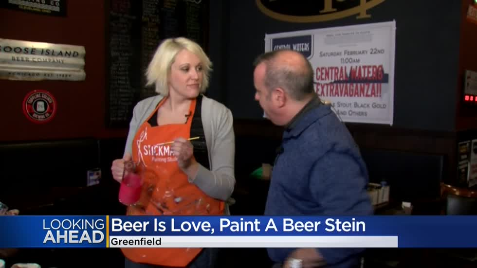Steins & Valentines Tuesday at The Brass Tap in Greenfield