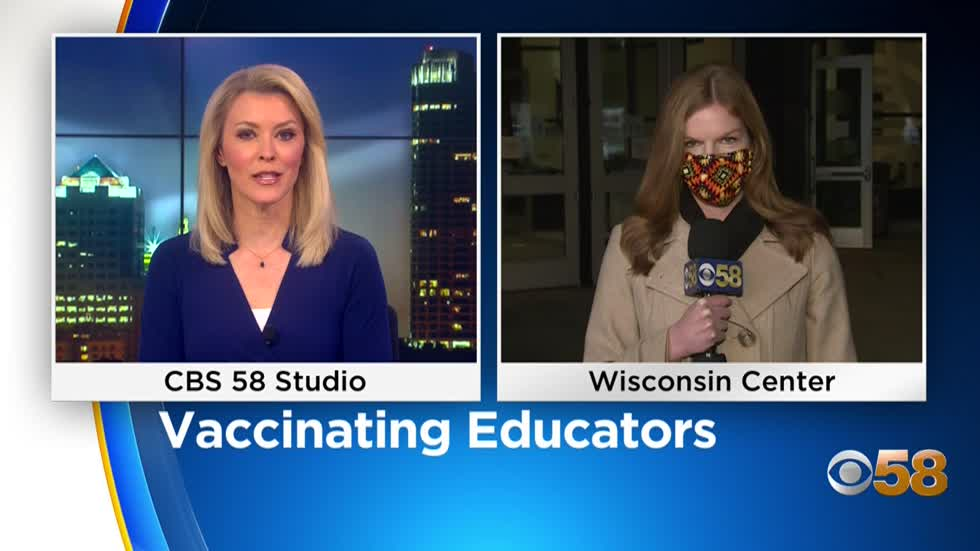 Milwaukee Health Department prepares to vaccinate educators