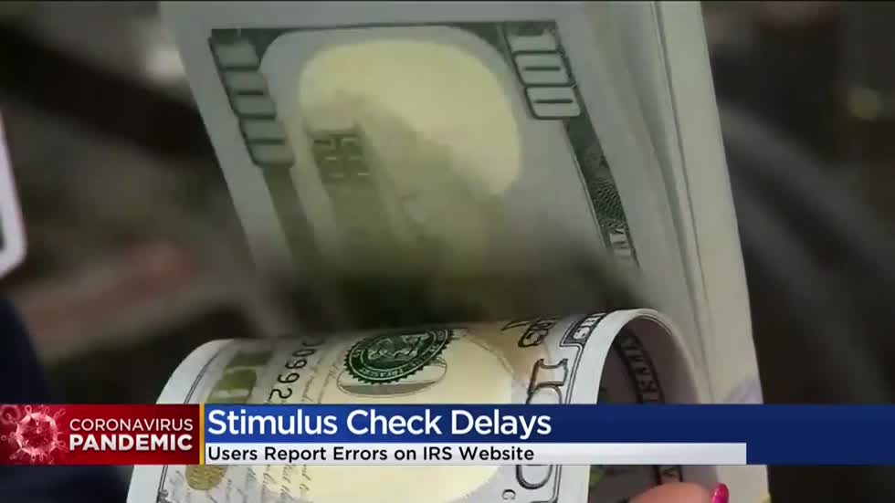 'Just waiting:' Issues with IRS stimulus check website