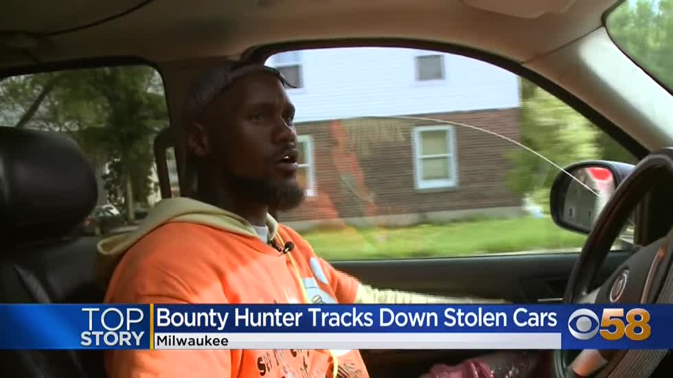 Milwaukee man makes a business out of tracking down stolen cars