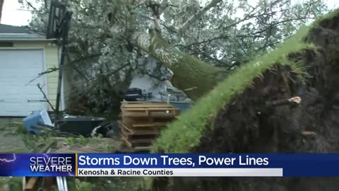 NWS to survey storm damage in Kenosha, Walworth and Racine counties