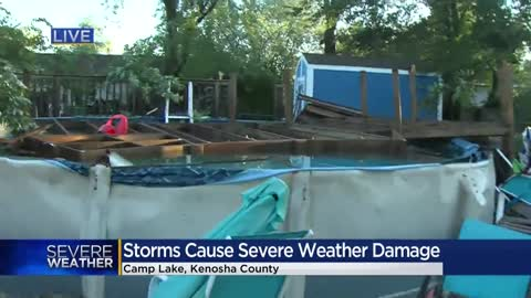 National Weather Service: EF-0 tornado confirmed in Lake Geneva...